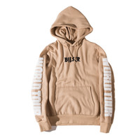 Wholesale Purpose Tour Men Hoodies Sweatshirts Light Tan Sport Sweatshirts Justin Bieber Same Fleece Hooded Sweatshirts Couples Sportswear Autumn New