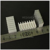 aluminium heatsink extrusion - x30x8mm DIY Extrusion Epoxy Attach On Heatsink Aluminium Cooler Cooling For DIP Fans amp Cooling