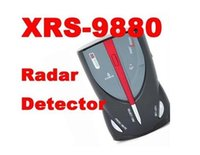 Wholesale New arrival Cobra XRS full Band High Performance Radar detector Car Laser Detector with Russian English Voice H525