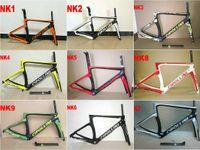 Wholesale 2017 T1100 Carbon Road Frame set Cipollini NK1K Carbon Road Bike Frames k or k carbon bicycle framework