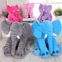 Cheap Elephant Plush Toys dolls Elephant Stuffed Animal Toys Elephant Throw Pillow Elephant Baby sleeping pillow Soft Plush stuffed toys B570