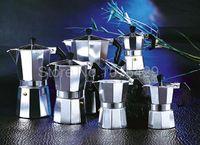 aluminum stovetop espresso - Aluminum Cups Latte Cappuccino Mocha Coffee Pot Stovetop Espresso Maker