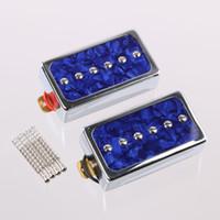 Wholesale Humbucker Pickups Bridge and Neck Set for Les Paul Electric Guitar Blue Pearl