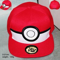 ash beige - Anime Cosplay Poke Pocket Monster Ash Ketchum Baseball Trainer Cap Hat Gift