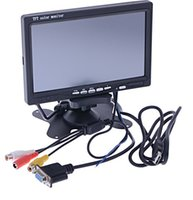 Wholesale 7 quot inch Touch Screen TFT LCD Monitor VGA AV Car for GPS PC
