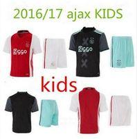 ajax football club - 2016 boys shirt Amsterdamsche Football Club Ajax kids Soccer Jersey survetement kids football Shirt maillot de foot Thai quality
