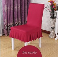 Wholesale Hot Selling Universal Plain Lycra Spandex Dining Home Party Chair Cover In Designs