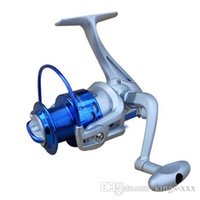 Wholesale 2015 BB Ball Bearings ST4000 Fishing Reel Left Right Interchangeable Collapsible Handlle Fishing Spinning Reel H10520