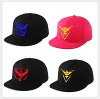 Wholesale 2016 Poke mon Go Snapbacks Men Women Brand Snapback pokémon Headwears Anime Pocket Monster Snapback High Quality Caps Fashion Headwears