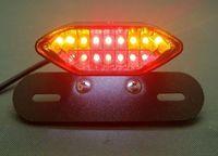 atv camera - LED Motorcycle Tail Turn Signal Brake License Plate Integrated Light Fr Quad ATV atv camera motorcycle locations