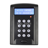 Wholesale LCD Economic Door Rfid Proximity Reader Access Control Keypad With Door Bell Button ID Keyfobs BC200