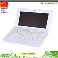 Wholesale 10 quot T Student Laptop Windows OS Tablet PC Quad Core G G IPS Notebook free DHL