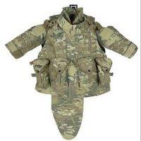 Wholesale Interceptor OTV bulletproof vest CS multifunction super protective camouflage combat vest tactical vest