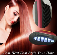 china coats - Fast Heating Rotating Electrics Hair Brush for Salon Electric Massage Comb Personalized Hair Brush Straight Flat Iron Hair Styling Tool
