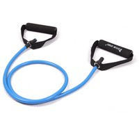 Wholesale resistance exercise belts tubes stretch yoga fitness workout pilates blue belts for and kylin sport