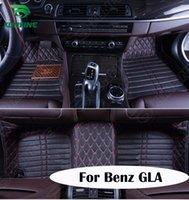 Wholesale Top Quality D car floor mat for Benz GLA foot mat car foot pad colors Left hand driver drop shipping