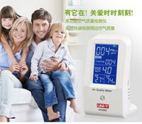 air moisture meter - orignal UT338C in1 VOC formaldehyde detector PM2 air quality monitoring tester dust haze Temperature Humidity Moisture Meter