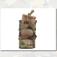 Wholesale Double Modular Rifle Magazine Pouch EMERSON Airsoft Hunting Tactical Pouches Outdoor Gear Multicam MC