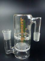Aparejo de jaula España-Plataformas petroleras Bong vidrio al por mayor NUEVO Twin jaula junior Bong pipas de cristal de vidrio de tuberías de agua Envío gratuito