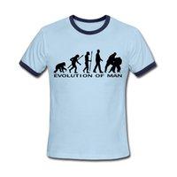 judo - New Summer Men T Shirts Evolution Judo Top Tees Graphic Fitness Short Sleeve Camisa Clothing Round Neck Man Clothing