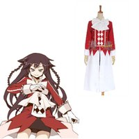 alice rabbit costume - Coser Halloween Role Cosplay Japan Anime Pandora Hearts B rabbit Alice Baskerville Uniform Outfit Cotumes Coat amp Shirt amp