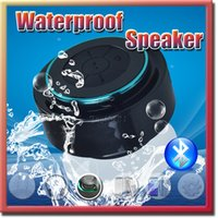 bathroom promotions - Bluetooth Waterproof Wireless Mini Speaker Chuck speaker with Suction Cup Built in Microphone Bathroom speakers Promotion free DHL