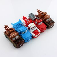 toy tow trucks - 5pcs set Pixar kids cars2 toys race car mater tow truck gun vampire metal scale diecast Vehicles figure models toys gifts boys for children