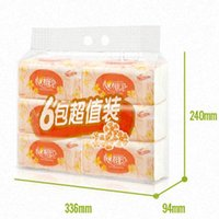 Wholesale removable tissue pack evacuated Soft pumping toilet paper paper napkin washcloth Tissue Household