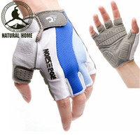 Wholesale NaturalHome Brand Cycling Bicycle Half Finger Gloves Men Mtb Bike Motocross Gloves Luvas Guantes Bicicleta Invierno Ciclismo