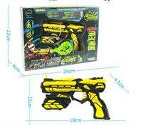 Wholesale Electric Toy Gun Soft Bullet guns Cyberwars Fang FJ801 gun for family games