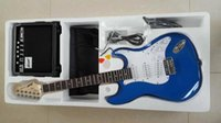 amp body - Brand new ST electric guitar w AMP Strap Cord Gigbag NEW in multi color