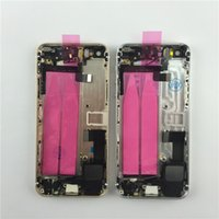 aluminum door parts - Aluminum Full iphone s plus Back Housing For iPhone s plus Complete Battery Door Cover With Small Parts Colors