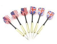 Wholesale g Tip Copper Darts Needle National Flag Dart Flights Play Dart Steel Throwing Toy