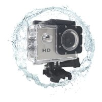 Wholesale New Mini DV Action Camera A7 SJ4000 HD P Sport Camera in LCD Degree Wide Angle Lens M Waterproof Mini Camcorders DHL D2369