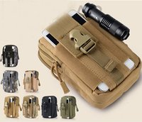 Wholesale Outdoor Athletic Tactical Waistpacks Bag Sport Casual Molle Military Crossbag Fanny Pack Mobile Phone Case Samsung Note D GZ B01