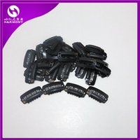 Wholesale 23mm Hair Extension Clips Snap Clips for Hair Extension I Shape Wig Clips tool colors available