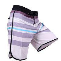 al por mayor men s playa-Los troncos de nadada de los hombres 2016 Junta de estiramiento Bañadores de secado rápido pantalones cortos de los hombres de Bermudas Surf playa de los trajes corto Nuevo Phantom