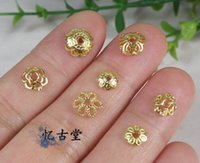 Wholesale quot Yi Gu Tang quot DIY beads silver plated Jinhua support spacer