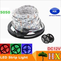 ac dc wire - 5 Meters Leds RGB Led Strip Light SMD Leds M Non waterproof DC V Indoor Lighting