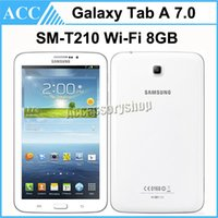Wholesale Refurbished Original Samsung Galaxy Tab SM T210 T210 inch Dual Core GHz GB Wifi MP Camera Android Tablet PC