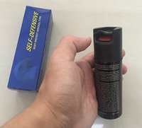 Wholesale CS Military Tear Gas Self Protector tool Car Security System Police Military Supplies Pepper Spray Sabre Defense Self Defenslve Toys