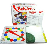 Unisex big retailers - Board Game Classic Twister Game Friend Family Moves Game Classic Board Game Toy with retailer box