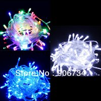 Wholesale 2013 Outdoor Decoration Multi Color Lighting V EU plug Energy String Fairy Lights For Party