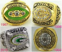 bay gifts - Fashion rings Green Bay Super Bowl replica Packers championship rings for men Size solid