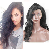 Wholesale Malaysian Lace wigs In Stock Natural Deep Body Wave Lace Front Wigs with Baby Hair Front Lace Wigs for Women