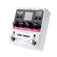 Wholesale NUX TIME FORCE Guitar Effect Pedal Multi Digital Delay Delay Effects