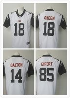 bengal jerseys - 2016 Men s Bengal Jersey Rush Color A J Green Andy Dalton Tyler Eifert Football Jersey White Color Rush Limited Jersey