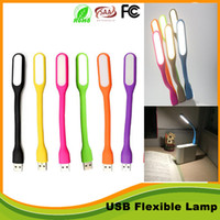 bank christmas light - Portable USB Led lamp bendable book reading night lamps flexible mini USB interface for Notebook Laptop Tablet Power Bank USB Gadets