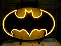 batman shop - BATMAN COMIC HERO Neon Sign Custom Store Display Beer Bar Pub Club Light Signs Shop Decorate Real Glass Tube Bulbs quot x14 quot