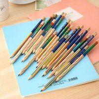 Wholesale 48 in rainbow colored pencil drawing color pencils for drawing pens sationery material escolar school supplies